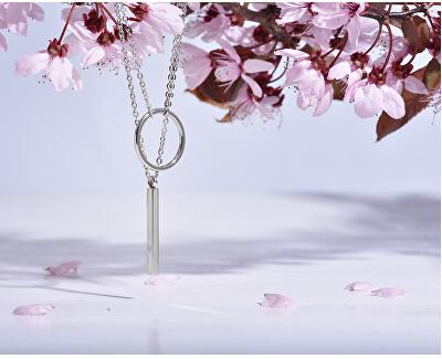 Stylový pozlacený náhrdelník