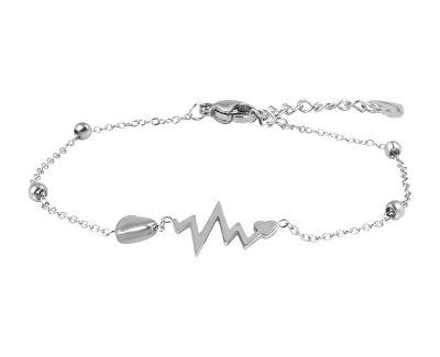 Jemný ocelový náramek Heartbeat VGS1103S