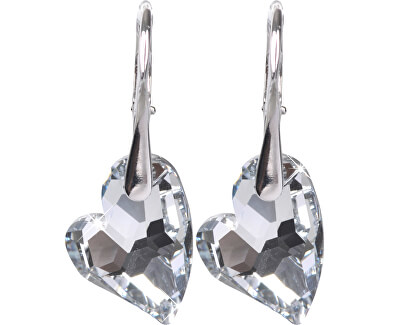 Náušnice Heart D2Y Crystal