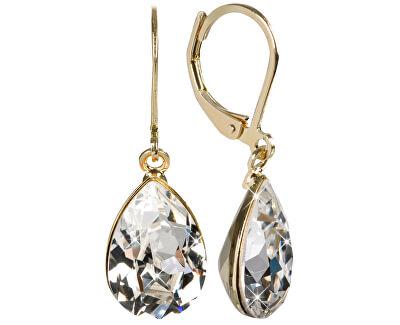 Náušnice Pear Crystal