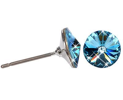 Náušnice Rivoli 8 mm Aquamarine