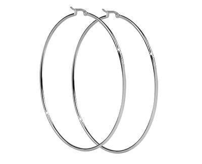 Oceľové náušnice kruhy 2 – 8 cm