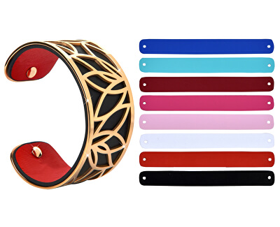 Oceľový náramok s vymeniteľnými farbami X.