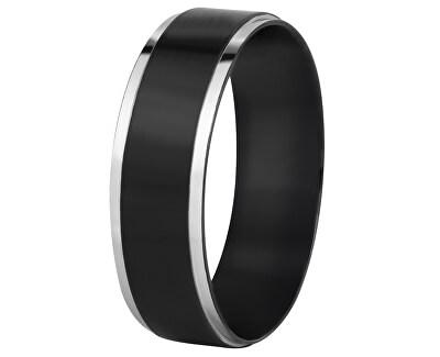 Verigheta din oțel negru / argintiu