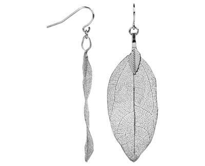 Cercei placați cu argint Frunze de dafin Laurel