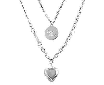 Stylová souprava trendy ocelových náhrdelníků VGX1806