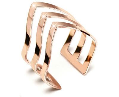 dreifacher Bronze Ring aus Stahl
