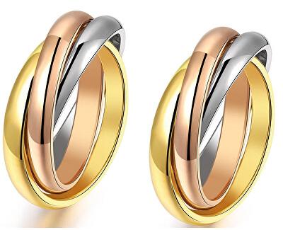 Zvýhodnená sada tricolor prsteňov KRS-247