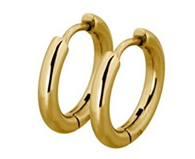 Módne pozlátené krúžky ESS503_10 Gold