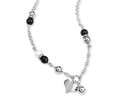 Halskette Schwarz NSLD21