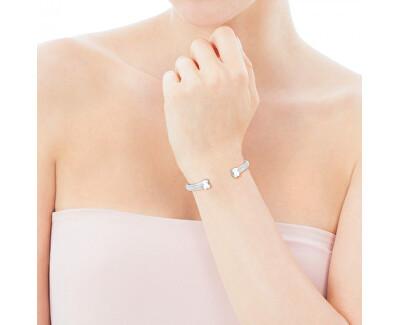 Pevný stříbrný náramek s medvídky 015921500 - stříbro 925/1000 8 g + obecný kov 2 g