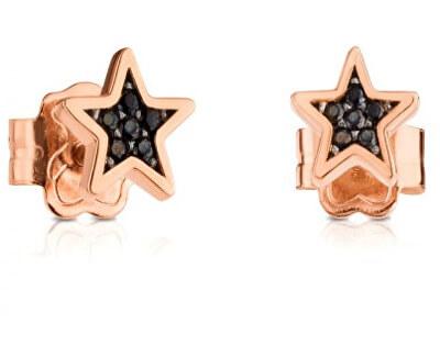 Luxusné drobné hviezdičkové náušnice sa spinely 414933530