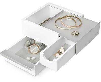 Šperkovnice STOWIT mini bílá/nikl 1005314670
