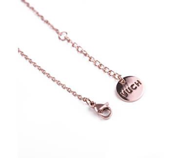 Elegantní ocelový náramek s perlou Margary Rose Gold