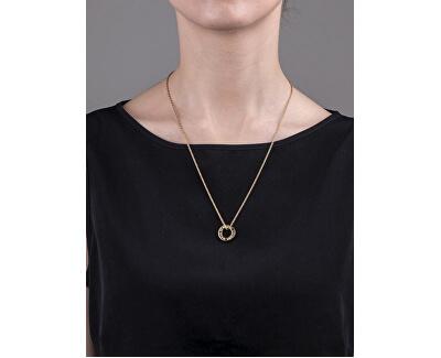 Pozlátený oceľový náhrdelník VN1054G