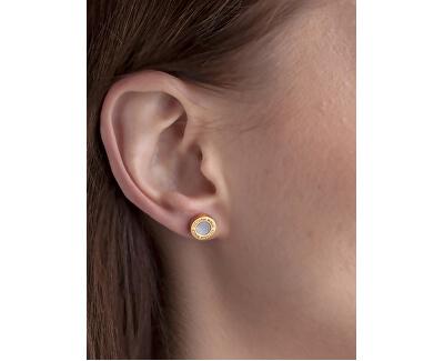 Súprava náušníc a náhrdelníka s perleťou VS1059G