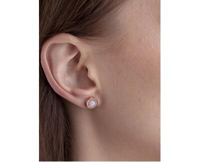 Súprava náušníc a náhrdelníka s perleťou VS1059R