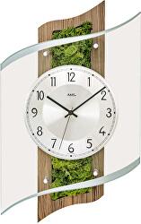 Nástěnné hodiny s přírodním mechem 5517