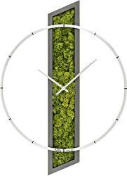 Nástěnné hodiny s přírodním mechem 9605