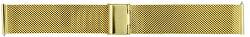 Kovový mesh s easy clickem - gold