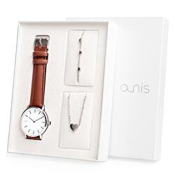Set hodinek, náhrdelníku a náramku AS100-03