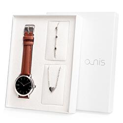 Set hodinek, náhrdelníku a náramku AS100-06
