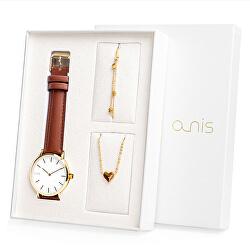 Súprava hodiniek, náhrdelníka a náramku AS100-18