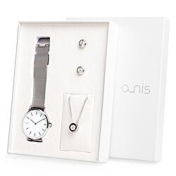Set hodinek, náhrdelníku a náušnic AS100-01