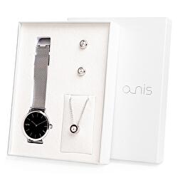 Set hodinek, náhrdelníku a náušnic AS100-04