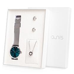 Set hodinek, náhrdelníku a náušnic AS100-07