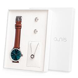 Set hodinek, náhrdelníku a náušnic AS100-09