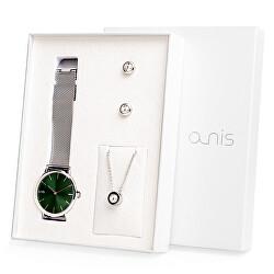 Set hodinek, náhrdelníku a náušnic AS100-13