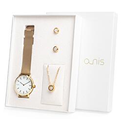 Set hodinek, náhrdelníku a náušnic AS100-16