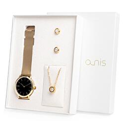 Set hodinek, náhrdelníku a náušnic AS100-19