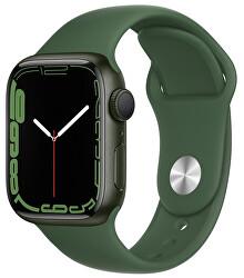 Apple Watch Series 7 GPS 41mm Green, Clover Sport
