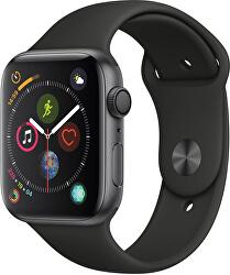 Watch Series 4 40mm vesmírně šedý hliník s černým sportovním řemínkem - SLEVA