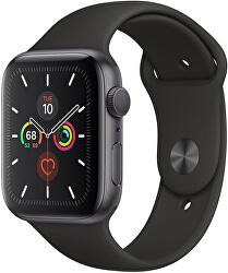 Watch Series 5 40mm vesmírně šedý hliník s černým sportovním řemínkem - SLEVA