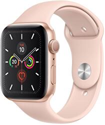 Watch Series 5 40mm zlatý hliník s pískově růžovým sportovním řemínkem