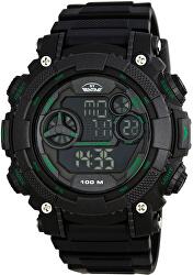 Pánské digitální hodinky 005-YP12579B-03