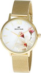 Dámské květinové hodinky 007-9MB-PT11894X