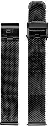 Kovový mesh s easy clickem - černý