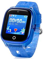 KT01 dětské hodinky s GPS modré