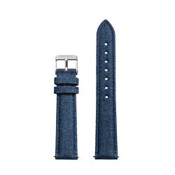Řemínek Minuit Blue Denim/Silver CLS331