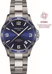 DS-8 Quartz Precidrive COSC Chronometer Titanium C033.851.44.047.00