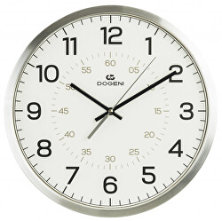 Nástěnné hodiny s tichým chodem WNM008SL