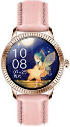 Smartwatch CF18 Pro - růžová