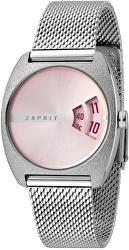 Disc Pink Silver Mesh ES1L036M0055