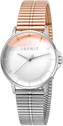 Fifty - Fifty Rosegold Silver MB ES1L065M0105