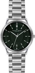 Broad Peak Silver Double Buckle Watch FBX-4220