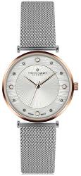 Rose Jungfrau Lychee Silver Mesh FBS-2518